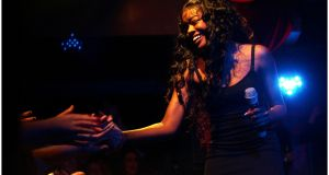 Azealia Banks performing at Whelans, Dublin, in 2012. Photograph:  Bryan O'Brien/The Irish Times