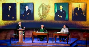 Miriam Lord: Gas light, relics and rare parliamentary action in the Mansion House