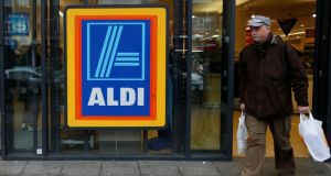 Aldi has a 10.8% share of the Republic's grocery market. Photograph: Suzanne Plunkett/Reuters