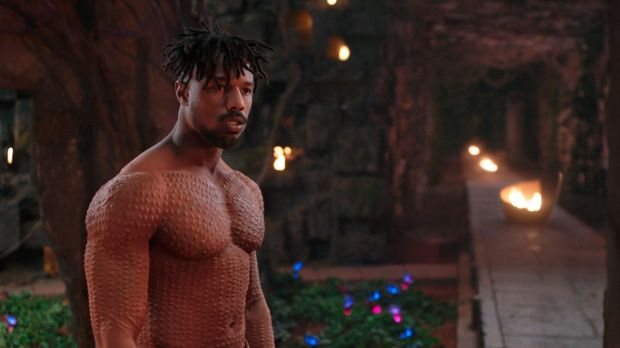 'Black Panther' is a major contender for the 91st Oscars. Photograph: Marvel Studios-Disney via AP