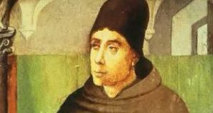 A portrait of John Duns Scotus by Justus van Gent: the Scottish theologian's middle name became synonymous with stupidity