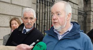 Noel Barry and Niall Lenoach asked the Supreme Court for permission to appeal the judgment on a number of grounds. Photograph: Collins Courts
