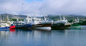 A file image showing trawlers in Castletownbere in Co Cork. Photograph: Getty