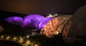 The Eden Project  in Cornwall: the botanic garden's   co-founder Tim Smit believes we can save ourselves and the natural world if only we would jump out of our comfort zones. Photograph:   Matt Cardy/Getty