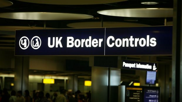 What is the problem with a hard border?