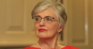 "Minister for Children Katherine Zappone: apologised to the former residents, saying she was ""deeply sorry"" about the delayed report. Photograph: Nick Bradshaw"