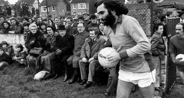 8169d5190 George Best turning out for Cork Celtic at Turner s Cross for their game  against Bohemians in