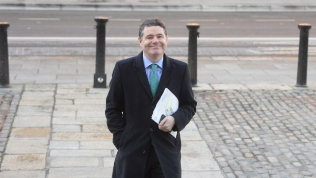 Minister for Finance Paschal Donohoe is facing calls to extend the Government's Help-to-Buy scheme for first-time buyers beyond the end of 2019. Photograph: Dara Mac Dónaill / The Irish Times