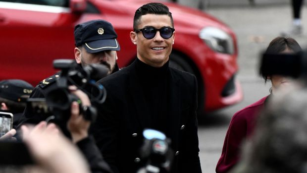 The investigations include Spanish authorities' seeking to prosecute soccer stars, including Cristiano Ronaldo. Photo: Oscar Del Pozo/Getty Images