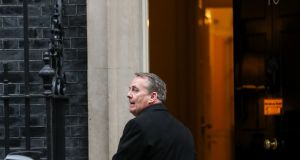 UK trade secretary Liam Fox. Photograph: Simon Dawson/Bloomberg