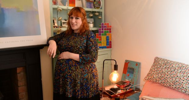 Tanya Sweeney pictured at home in Stoneybatter, Dublin. Photograph: Dara Mac Dónaill/The Irish Times