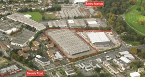 Santry development: the site sold to Dwyer Nolan has a mixture of zonings, including employment creation