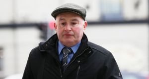 Patrick Quirke (50) of Breanshamore, Co Tipperary, who is on trial for the  murder of   Bobby Ryan (52). Photograph: Collins Courts