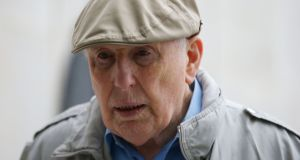 Michael Shine (86), of Ballsbridge, Dublin, has pleaded not guilty at Dublin Circuit Criminal Court to 13 charges of indecent assault. Photograph: Colins Courts.