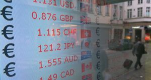 The pound was lifted on Tuesday by strong employment data. Photograph: Yuriko Nakao/Bloomberg