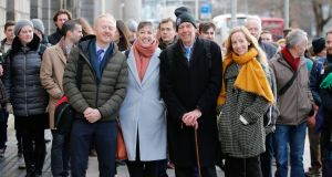 Friends of the Irish Environment are taking a legal action under the banner of 'Climate Case Ireland'  against the  Government in which it has asked the court to quash the State's existing plan to combat climate change.  Photograph: Nick Bradshaw for The Irish Times.