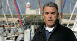 Poet Theo Dorgan at Howth in 2014.  Photograph: Cyril Byrne