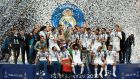 Real Madrid have moved to the top of the Deloitte money league after a year which saw them secure a third-consecutive European Cup. Photograph: Lluis Gene/AFP/Getty