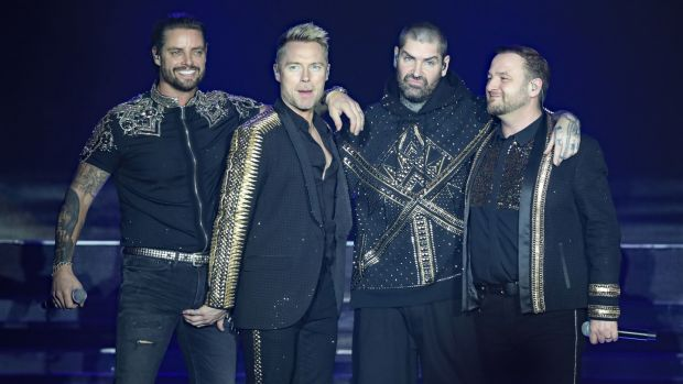 Boyzone: They will play their final concert tonight in Dublin's 3arena. Photograph: Niall Carson/PA Wire