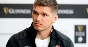 Owen Farrell will captain England for their Six Nations opener against Ireland, fitness providing. Photograph: Bryan Keane/Inpho