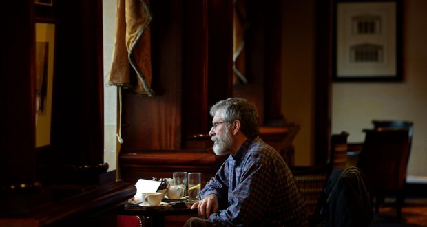 Gerry Adams was said to have made the worst cup of tea in Long Kesh. Photograph: Eric Luke