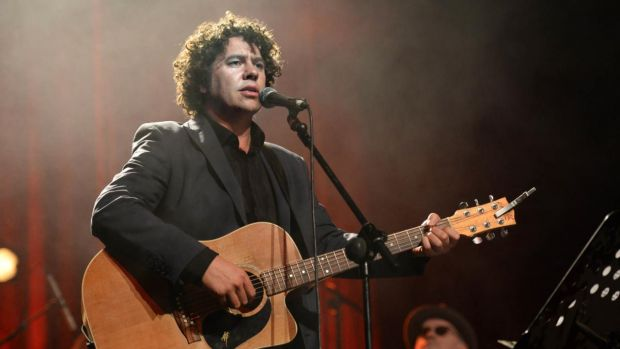 Declan O'Rourke at the Olympia Theatre in August 2013. Photograph: Cyril Byrne