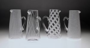 Designer-maker Scott Benefield from Co Antrim who has the North's only artisanal glassblowing studio, BTU Studio