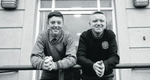 St Paul's CBS Secondary School: Dylan O'Toole and Kian Fitzwilliam. Photograph: Nick Bradshaw