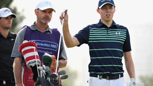 Leader Matt Fitzpatrick now has Billy Foster on his bag. Photo: Ross Kinnaird/Getty Images