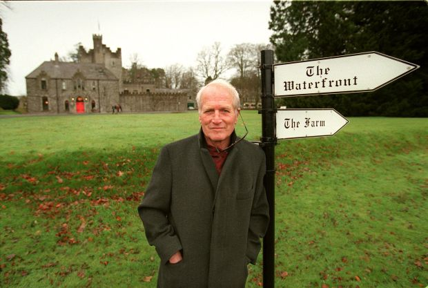 Barretstown founder Paul Newman at the Co Kildare castle in December 1998. Photograph: Frank MIller