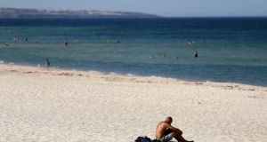 Adelaide sweltered through the highest temperature ever recorded by a major Australian city on Thursday, peaking at a searing 46.6 degrees as the drought-parched nation heads toward potentially the hottest January on record. Photograph: Kelly Barnes/AAP Image via AP