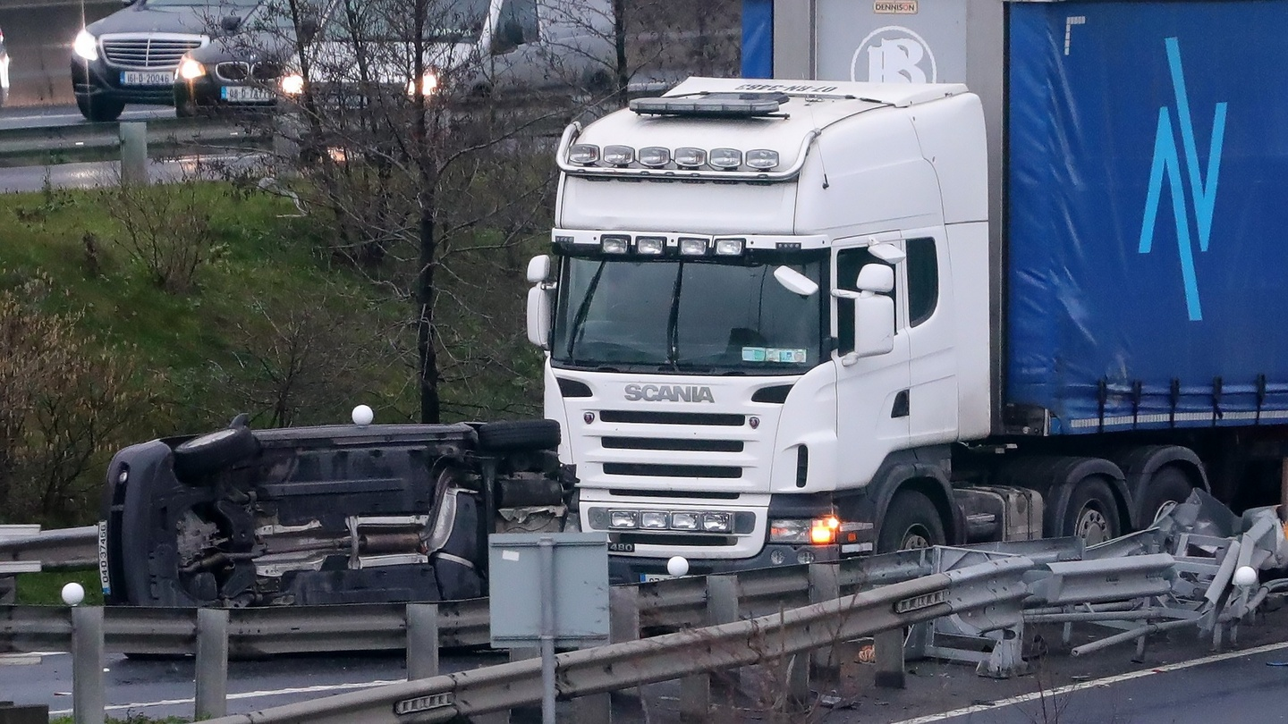 three people killed in crashes on m50 and in galway and kildare