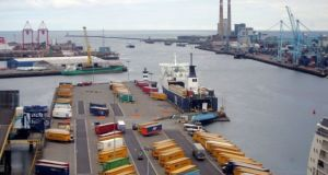 The Central Bank's director of economics and statistics said tariffs and customs delays at ports and airports could drive up prices and hit the availability of some goods. Photograph: Alan Betson/The Irish Times
