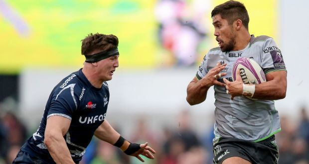 Jarrad Butler will lead Connacht against Cardiff. Photograph: Bryan Keane/Inpho