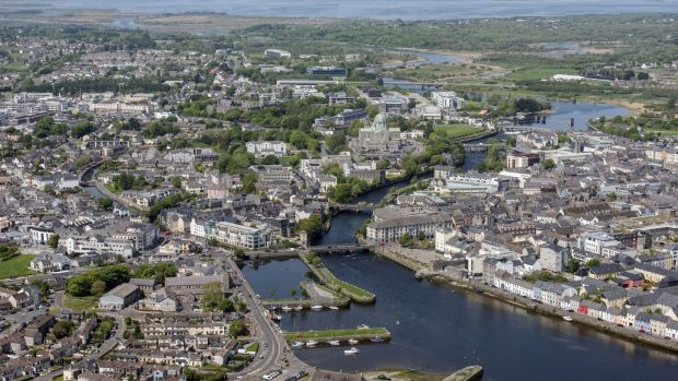 Galway city: New developments are hard to come by here, despite an estimated 3,000 new units being required to meet demand. File photograph: Brenda Fitzsimons/The Irish Times