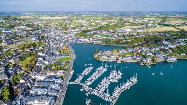Among developments in Cork are a release of three-bed homes this month at Kinsale Manor, within walking distance of Kinsale (above), where three-bedroom semis will sell from €340,000.