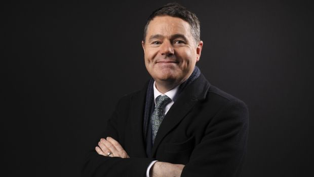 Minister for Finance Paschal Donohoe: was grilled in Davos