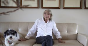 Mary Oliver: popularity conspired to give her, fairly late in life, the aura of a reluctant, bookish rock star. Photograph: Angel Valentine/New York Times