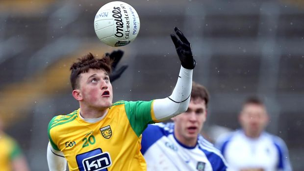 Niall O'Donnell: clever in open play and also can prove a reliable free-taker for Donegal. Photograph: John McVitty/Inpho