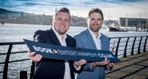 Keith Donaghy and Denis Finnegan, co-founders of BookEntertainment