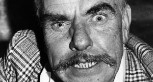 "Windsor Davies in ""It Ain't Half Hot Mum"": his eardrum-shattering bellow never failed to amuse viewers. Photograph: Wesley/Keystone/Getty"