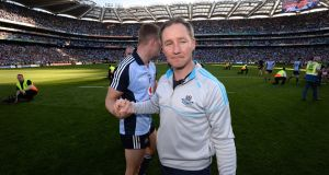 Jim Gavin: Dublin's manager will be keen to see his side maintain momentum in the league as they prepare for a tilt at an historic five All-Ireland titles in a row. Photograph: Dara MacDonaill