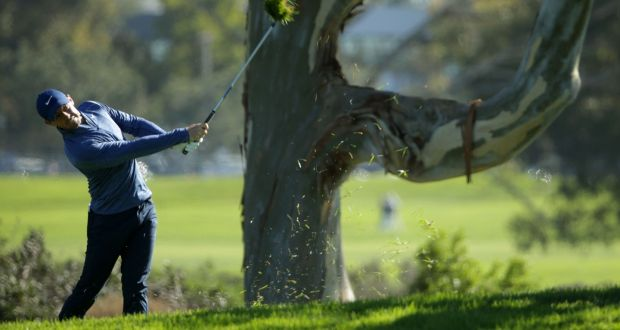 ccef40b4c53d Rory McIlroy in action during his second round at Farmers Insurance Open at  Torrey Pines Golf