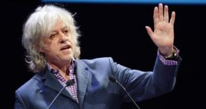 The Boomtown Rat's biggest hit had been credited to Bob Geldof alone. File photograph: Alan Betson/ The Irish Times