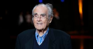File photograph of French composer Michel Legrand in Lyon, France. File photograph: AP Photo/Laurent Cipriani