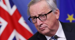 European Commission president Jean-Claude Juncker. Photograph: Yves Herman/Reuters