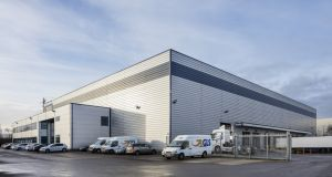 Unit 1 at Stadium Business Park is let to Viking Direct on a 20-year lease