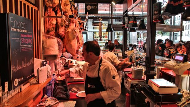 Jamon Jamon in Madrid