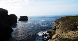 Views across the Atlantic from Kilkee Cliff Walk