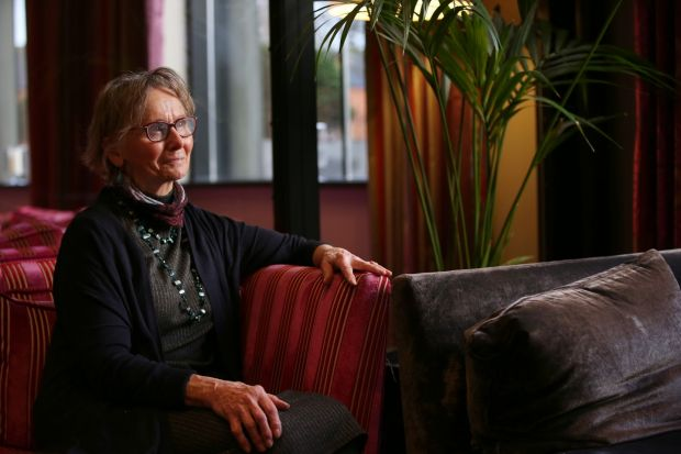 Jacinta Dixon: 'I have experienced isolation. My neighbours and people in the community are great – but a lot of people still don't really know what dementia is' Photograph: Laura Hutton/The Irish Times